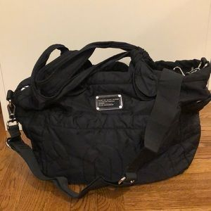 Marc by Marc Jacobs Black Nylon Diaper Bag!